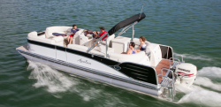 2013 - Avalon Pontoons - Windjammer Quad Lounger 24