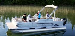 2014 - Avalon Pontoons - 20 GS Quad Fish