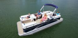 2014 - Avalon Pontoons - 20 GS Quad Lounge