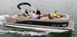 2014 - Avalon Pontoons - 24 Windjammer Quad Lounge