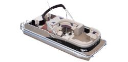 2014 - Avalon Pontoons - 22 Windjammer Rear Fish