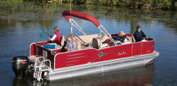 2015 - Avalon Pontoons - 21 Catalina Quad Fish