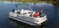 2015 - Avalon Pontoons - 21 Windjammer Quad Fish