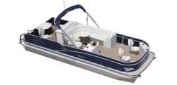 2015 - Avalon Pontoons - 23 Catalina Quad Fish