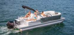 2015 - Avalon Pontoons - 24 LSZ Rear Lounger