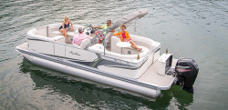 2015 - Avalon Pontoons - 24 LSZ Quad Lounger