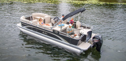 2017 - Avalon Pontoons - 22 GS Rear Fish