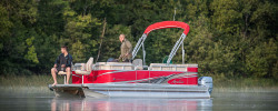 2018 - Avalon Pontoons - 18 Venture Rear Fish