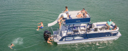 2018 - Avalon Pontoons - 27 Ambassador Cruise Funship