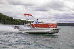 2018 - Avalon Pontoons - 16 Venture Cruise Rear Bench