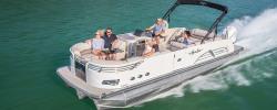 2018 - Avalon Pontoons - 25 Ambassador Rear J Lounge