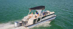 2018 - Avalon Pontoons - 25 Catalina Platinum Quad Lounge