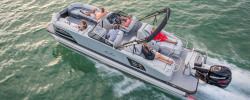 2018 - Avalon Pontoons - 27 Excalibur Rear Lounge Windshield