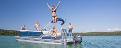 2018 - Avalon Pontoons - 22 LSZ Cruise Rear Bench