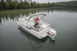 2019 - Avalon Pontoons - 20 LSZ Rear Fish