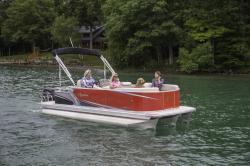2019 - Avalon Pontoons - 22 LS Cruise Rear Bench