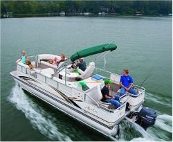 Avalon Pontoons LP Rear Fish 24 Pontoon Boat