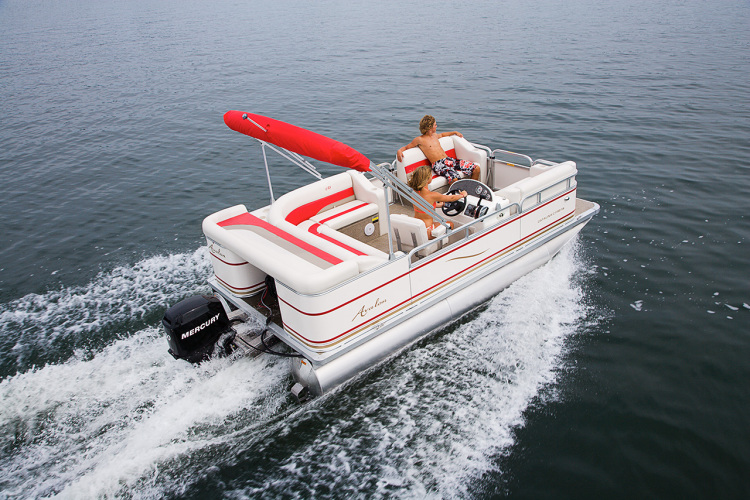 Research avalon pontoons catalina 16 pontoon boat on for 16 foot aluminum boat motor size