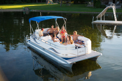 Avalon Pontoons Windjammer 22 Pontoon Boat