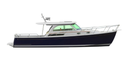2014 - Back Cove Yachts - Downeast 37