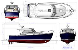 2019 - Back Cove Yachts - Back Cove 32
