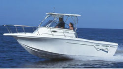 Baha Cruiser Boats 240 WAC Walkaround Boat