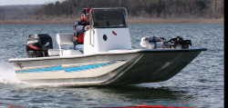 2014 - Bass Cat Boats - Skiff Cat 18