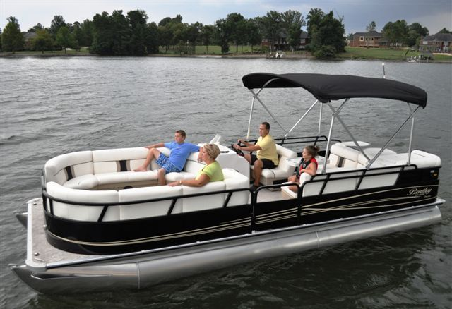 Research 2011 - Bentley Pontoon Boats - 240 Cruise RE on ...
