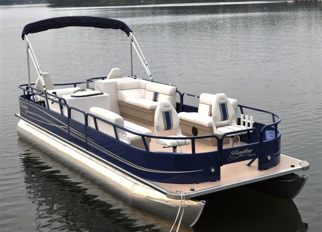 Research 2011 Bentley Pontoon Boats 244 4 Point On