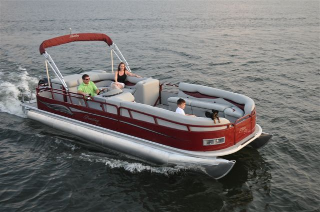 Research 2012 bentley pontoon boats 223 elite encore for Party fishing boats