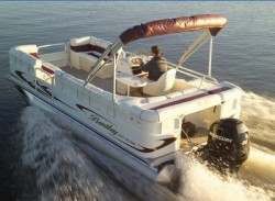 Bentley Boats 204 4 Point Fish Pontoon Boat