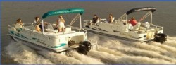 Bentley Boats 184 4 Point Fish Pontoon Boat