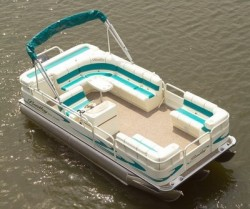 Bentley Boats 243 4 Point Pontoon Boat