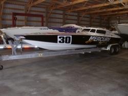 2005 - Phantom Boats - 30 Speedster Canopy