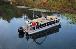 2014 - Berkshire Pontoon Boats - STS 253RFX