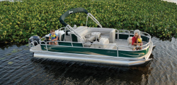 2009 - Berkshire Pontoon Boats -  242 Angler