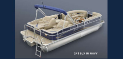 2009 - Berkshire Pontoon Boats - 243 SLX