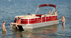 2010 - Berkshire Pontoon Boats - 220 CL