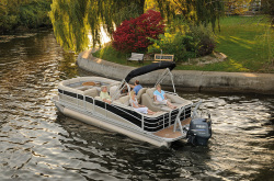 2012 - Berkshire Pontoon Boats - STS 220 CL