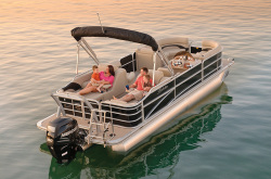 2012 - Berkshire Pontoon Boats - LTD 233 RFX