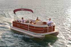 2012 - Berkshire Pontoon Boats - LSR 211 FC -A