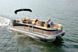 2017 - Berkshire Pontoon Boats - STS 25CLE
