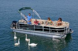 2018 - Berkshire Pontoon Boats - STS 21RFX