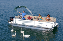 2018 - Berkshire Pontoon Boats - STS 25SLX