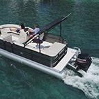 2020 - Berkshire Pontoon Boats - CTS 20RFX