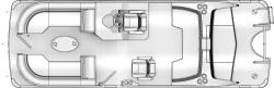 2020 - Berkshire Pontoon Boats - 25-Sport-CL
