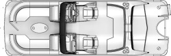 2020 - Berkshire Pontoon Boats - 25-Sport-CL-DC