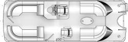 2020 - Berkshire Pontoon Boats - 25-Sport-RFX
