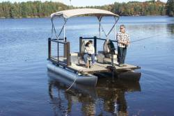 Lake Lounger Fish...floating Deck/Patio! Fish Sit Relax Unwind!