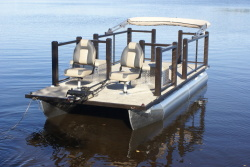 Lake Lounger Fish...floating Deck/Patio! Sit Relax Unwind!